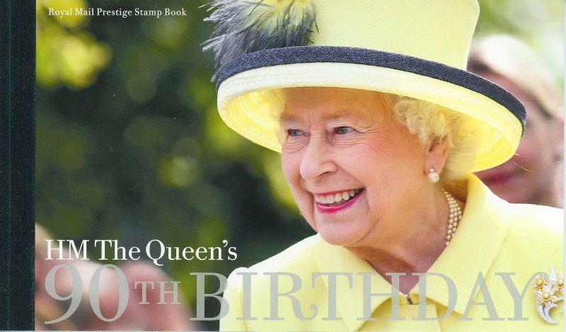 2016 Queen's 90th Birthday, Prestige Stamp Booklet DY17